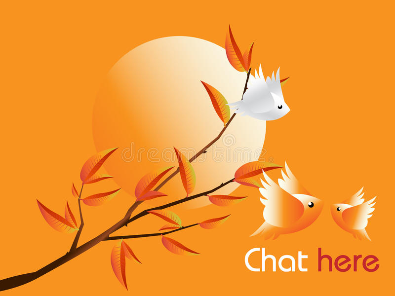 Download Lovebirds Character stock vector. Illustration of dating - 15987907