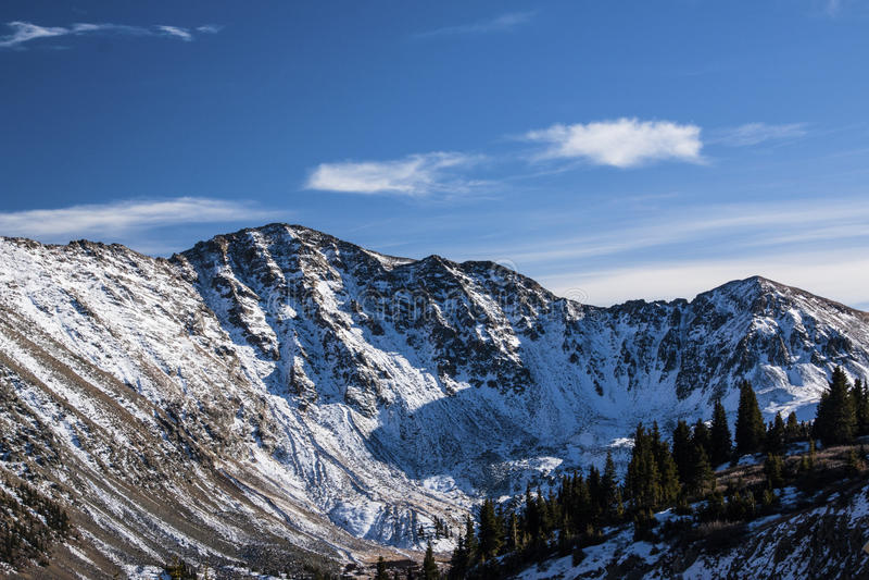 Loveland passerande i Colorado arkivfoton
