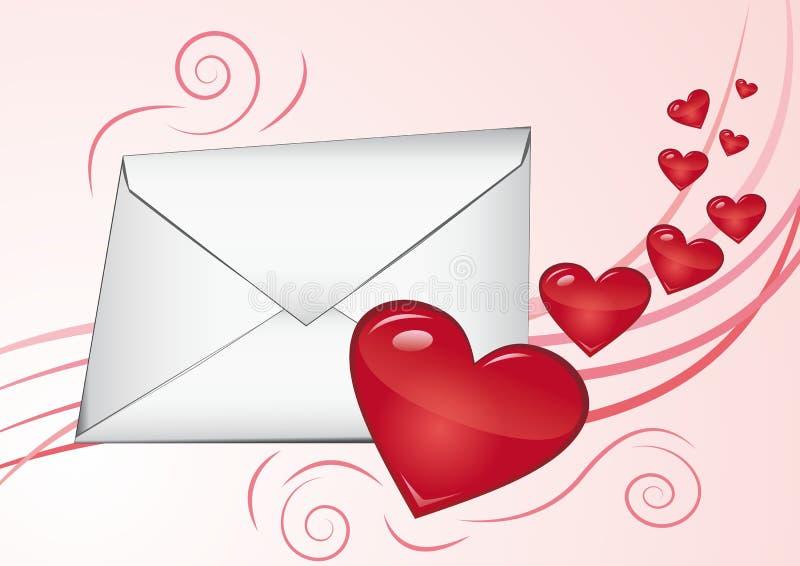 Download Loveletter stock vector. Image of valentine, affection - 17592868