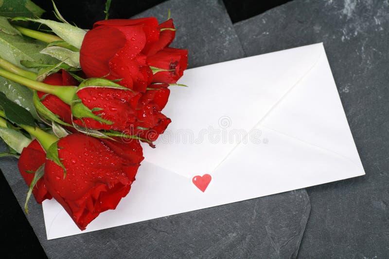 Loveletter stock foto's