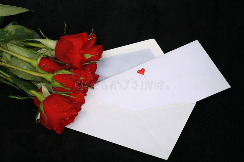 Loveletter images stock
