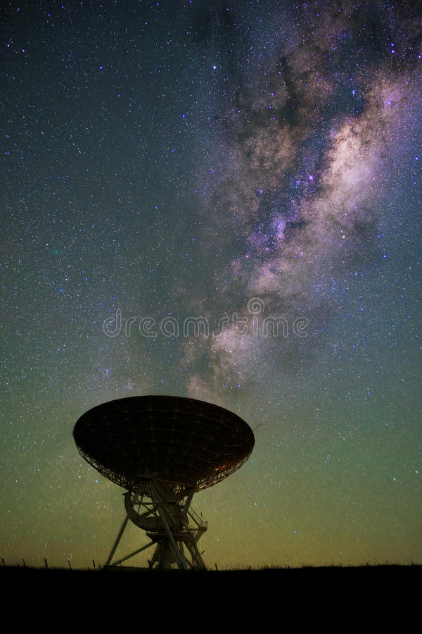 lovell radio telescope 库存图片