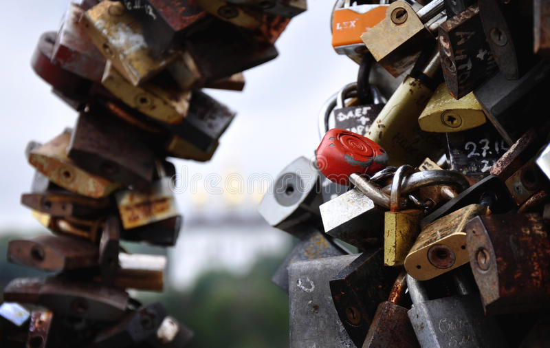 Lovelocks imagem de stock royalty free