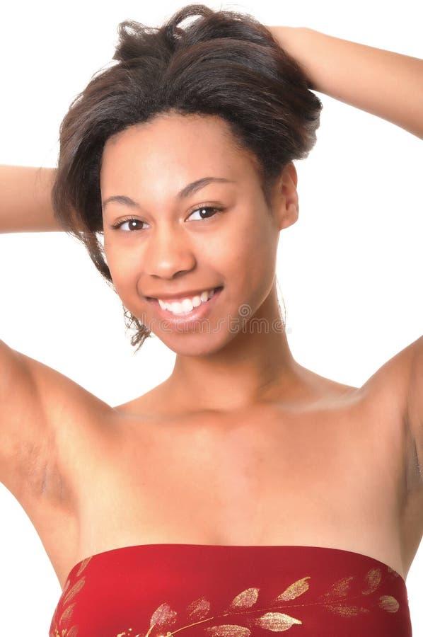 Lovely African American Girl Stock Image