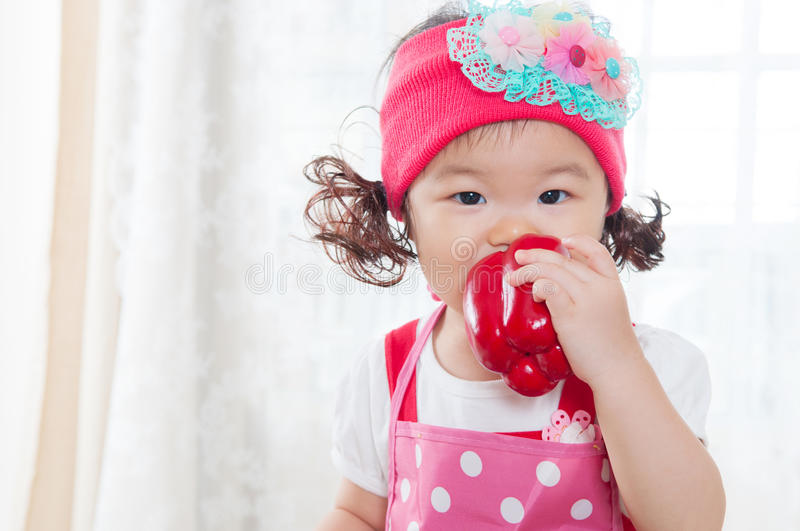 Lovely asian child royalty free stock images