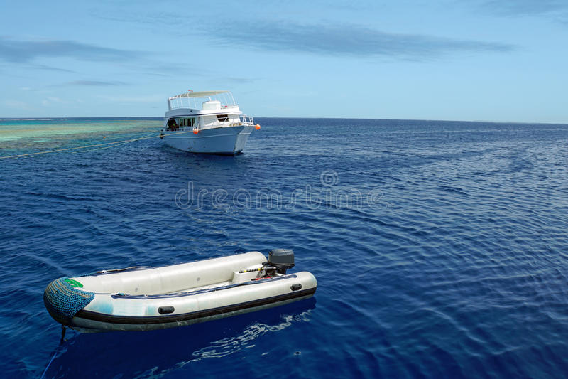 Lovely atoll royalty free stock images