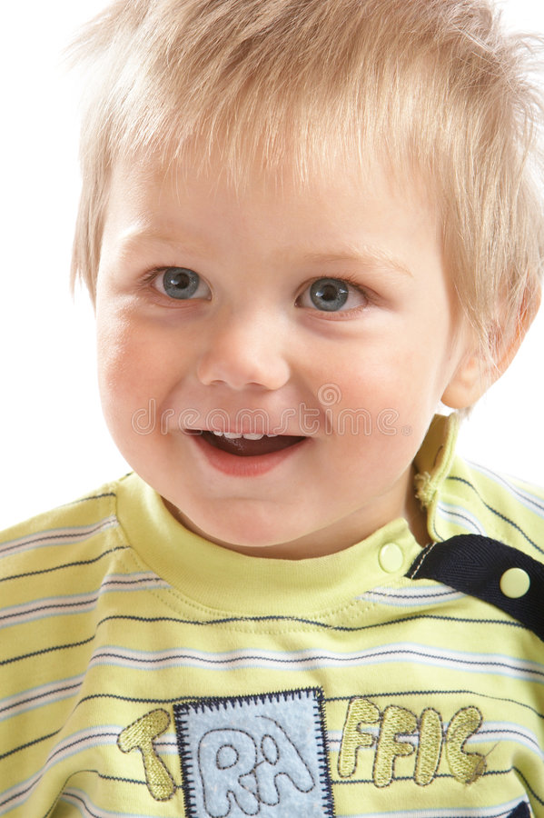 Lovely Baby Boy royalty free stock photography