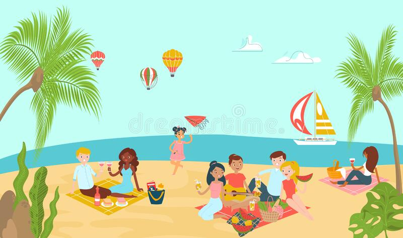Picnic Barbecue Vector Art & Graphics | freevector.com
