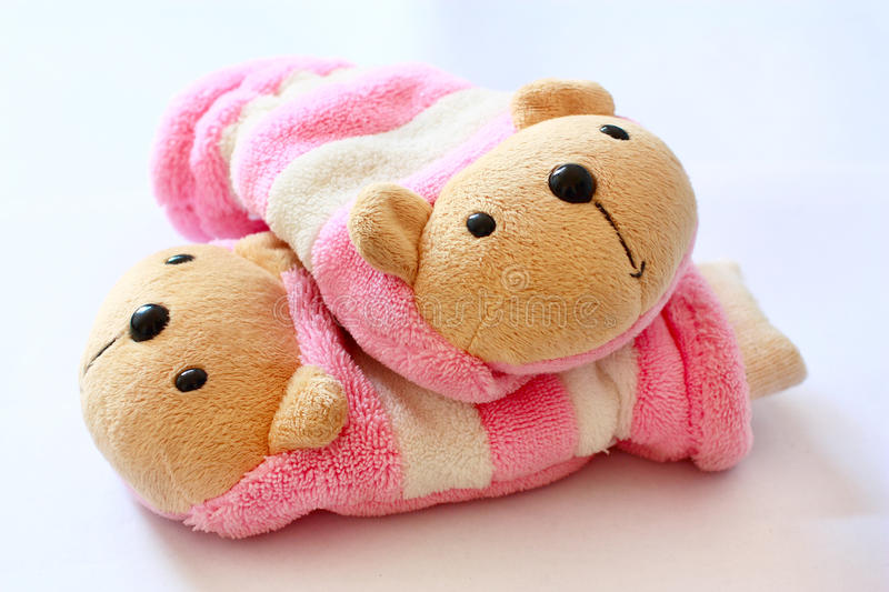 Download Lovely bears toys stock image. Image of gloves, playful - 13450711
