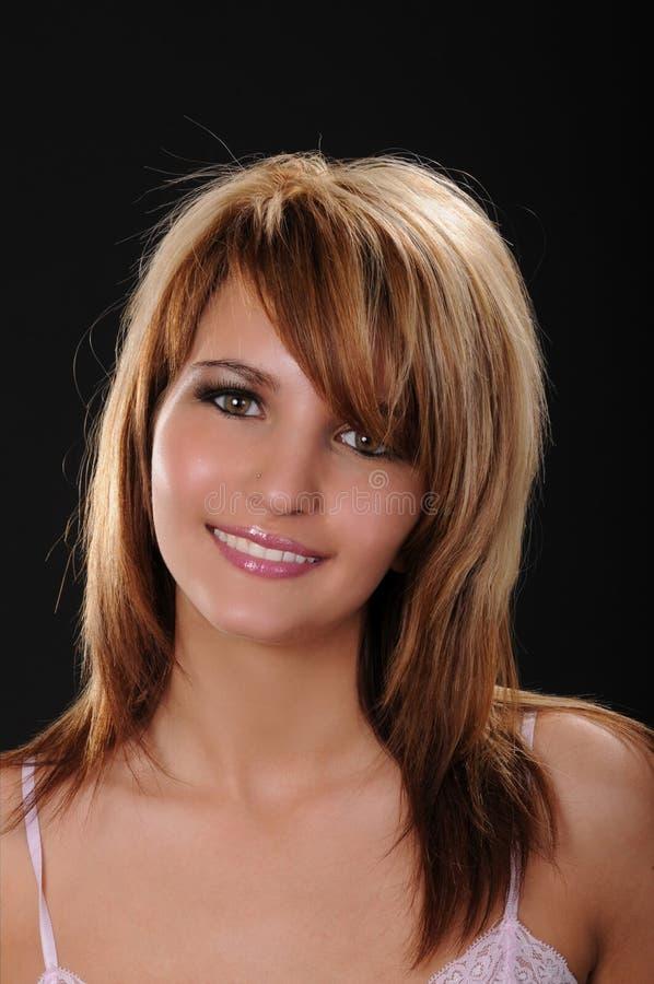 Download Lovely Brunette Girl stock image. Image of caucasian - 19890279