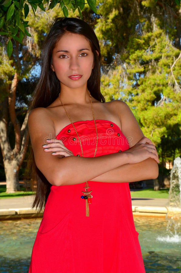 Lovely Brunette Girl Royalty Free Stock Photos