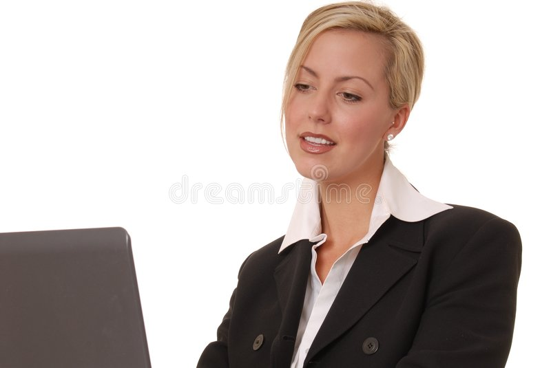Download Lovely Business Lady 104 stock image. Image of happy, woman - 1446575