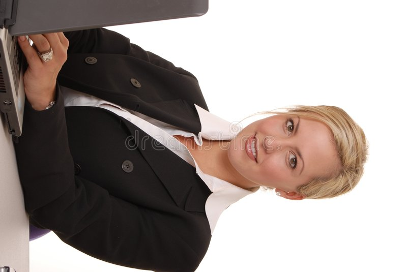 Lovely Business Lady 111 stock images