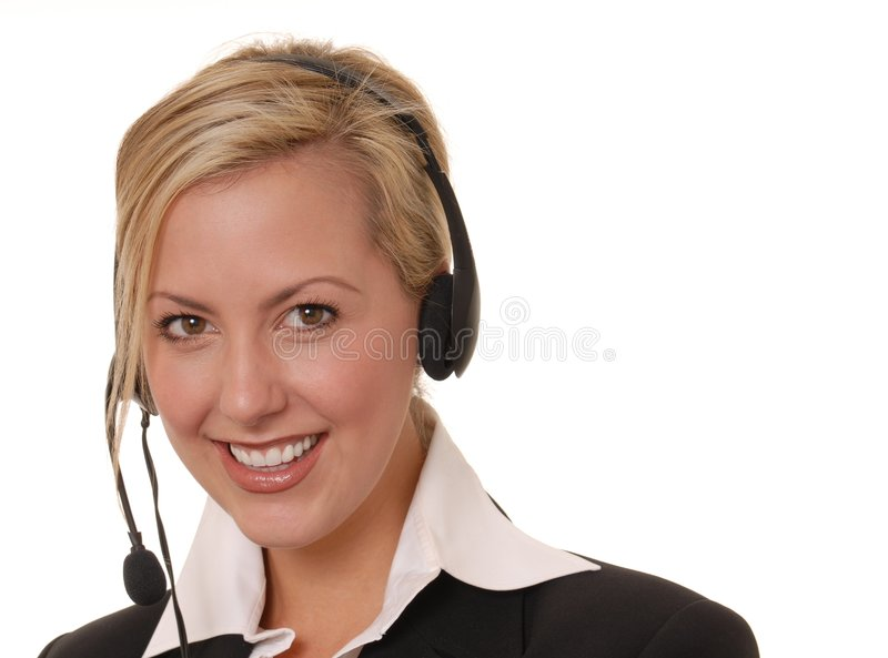 Lovely Business Lady 12 stock photo