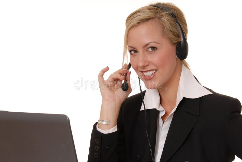 Lovely Business Lady 13 stock image