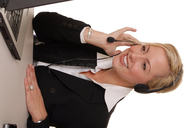 Lovely Business Lady 14 stock photography