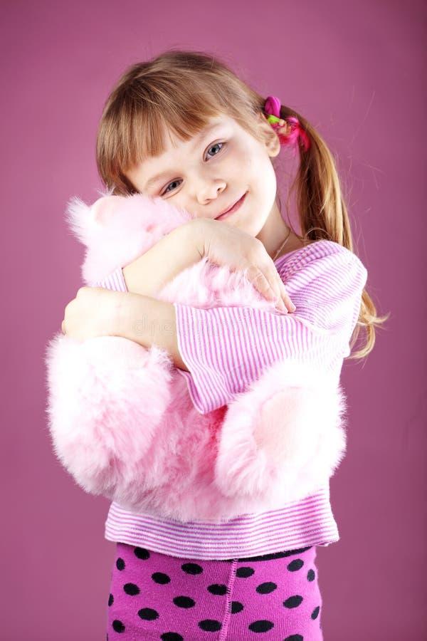 Lovely child. Lovely kid girl studio series stock images