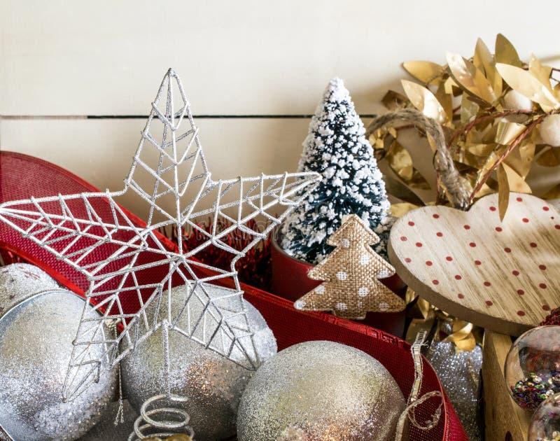 Lovely Christmas decor royalty free stock image