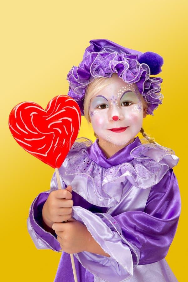 Download Lollipop heart stock image. Image of joker, circus, comedy - 30018831