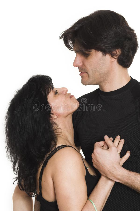Lovely couple stock image
