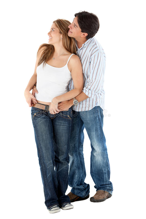 Download Lovely couple hugging stock image. Image of background - 14938695