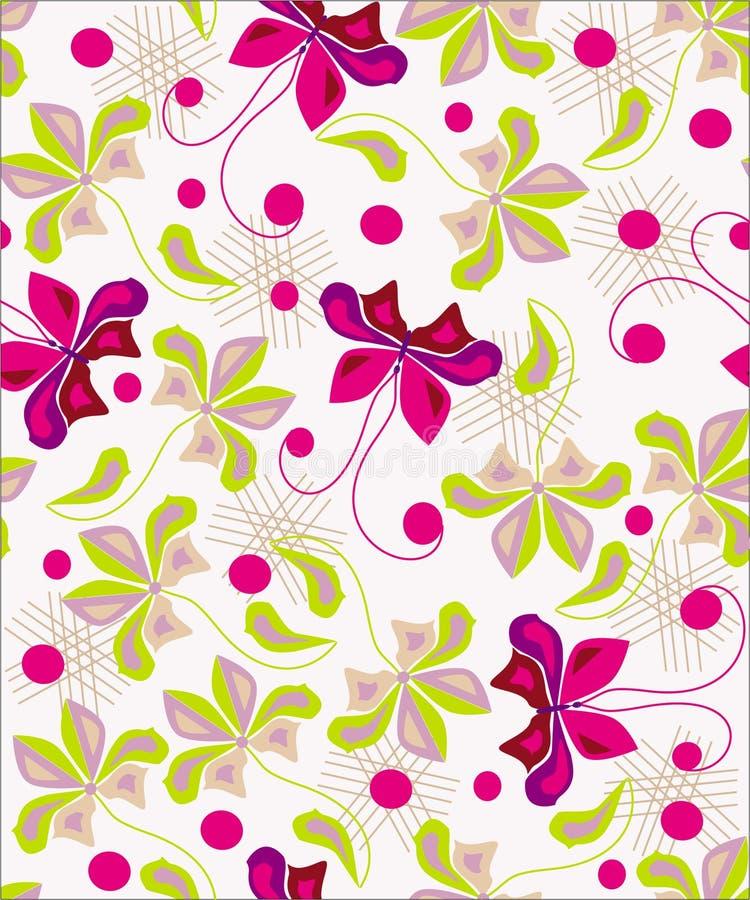 Lovely floral background design vector illustration