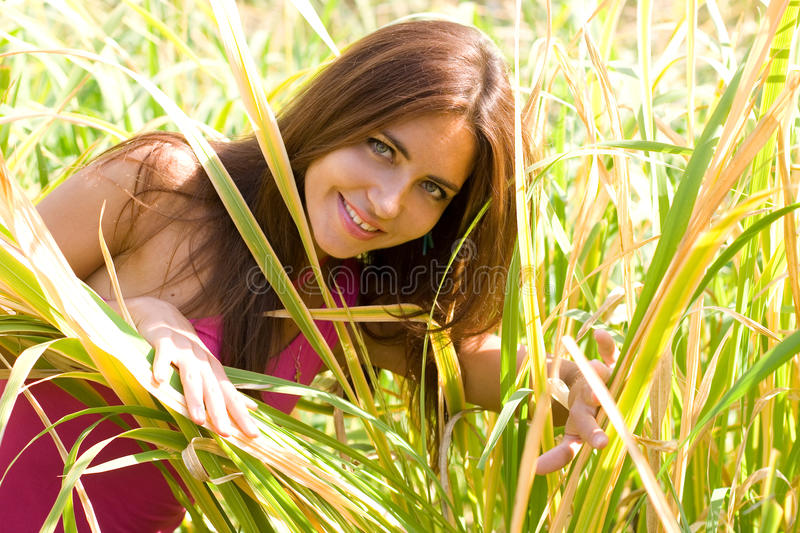 Lovely girl royalty free stock photos