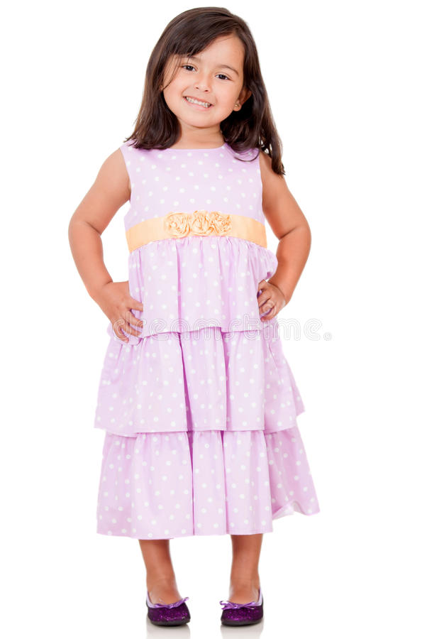 Download Lovely girl in a dress stock image. Image of people, background - 24901769