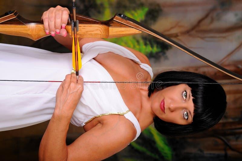 Lovely Greek Goddess Archer