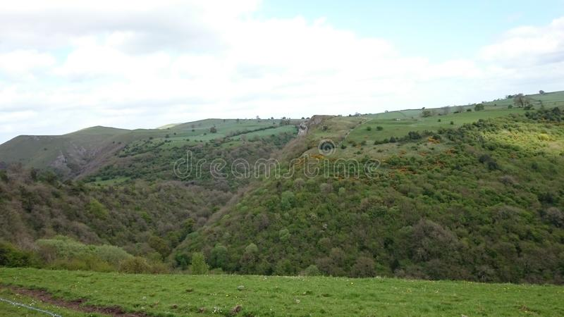 Lovely Green Fields 2 royalty free stock image