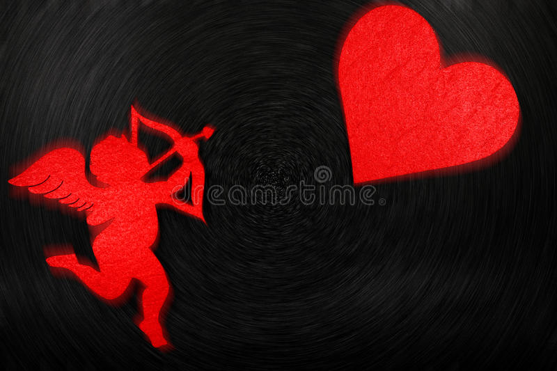 Lovely image for valentines day. stock photography