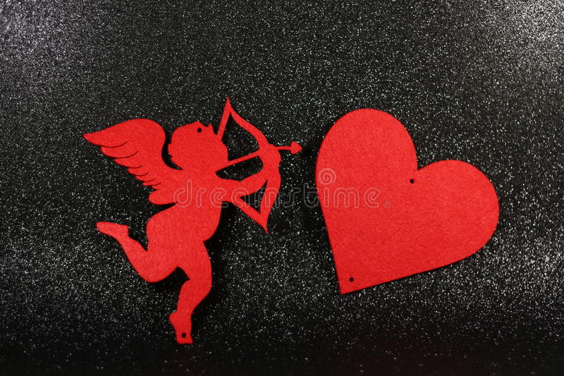 Lovely image for valentines day. stock photos
