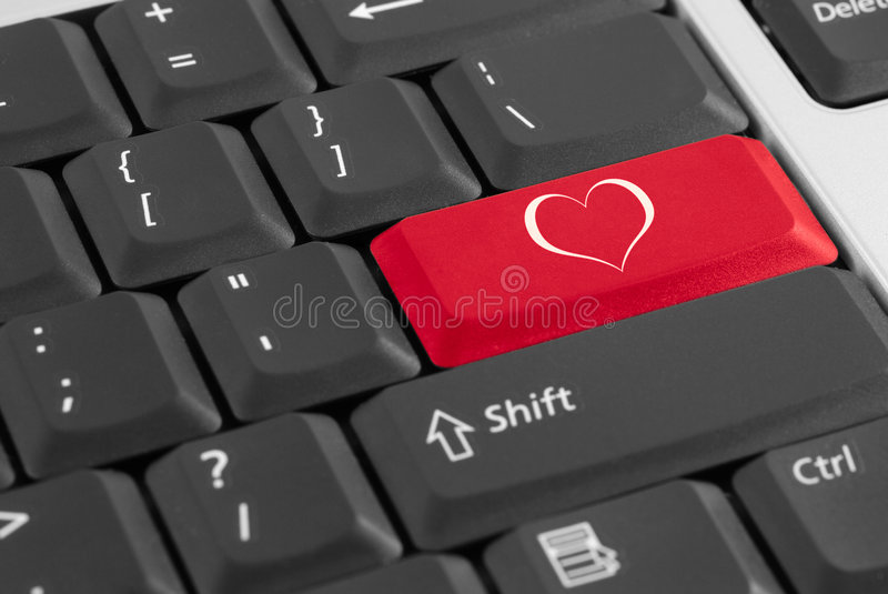 Lovely keyboard. stock photos