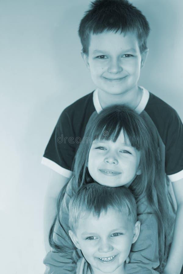 Lovely kids royalty free stock image