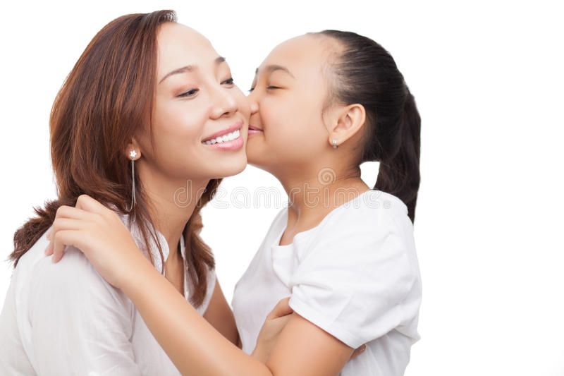 Download Lovely kiss stock photo. Image of beautiful, childhood - 26601710