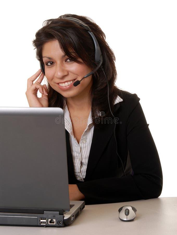 Latina Business Woman royalty free stock photos