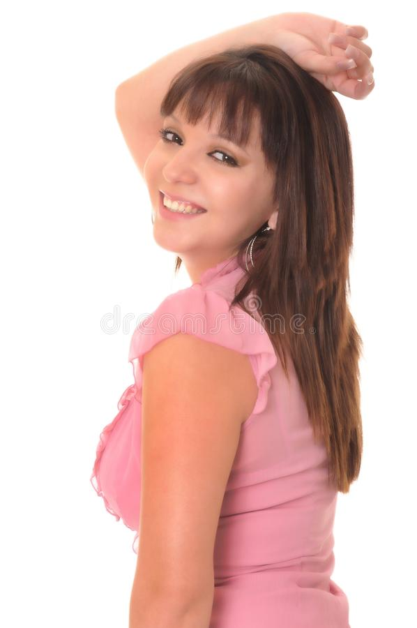Download Lovely Latina Girl stock photo. Image of face, eyes, lovely - 12350486
