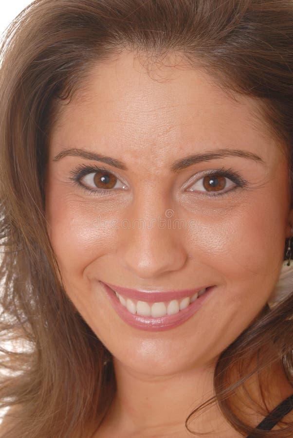 Lovely Latina Girl. Closeup portrait of a lovely latina girl royalty free stock photography
