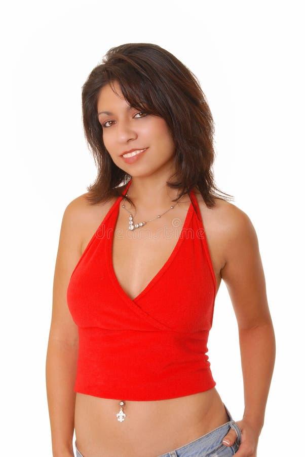 Lovely Latina royalty free stock photography