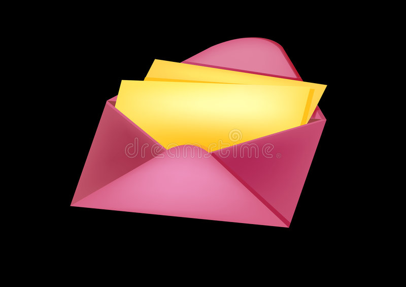 Download Lovely mail stock illustration. Illustration of address - 3998621