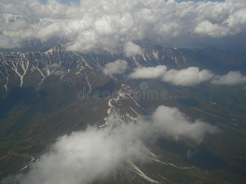 Lovely mountain site view royalty free stock photos
