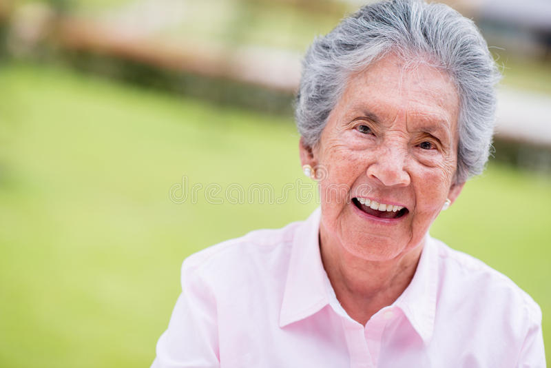 Download Lovely old woman stock image. Image of lovely, hair, sweet - 31052355