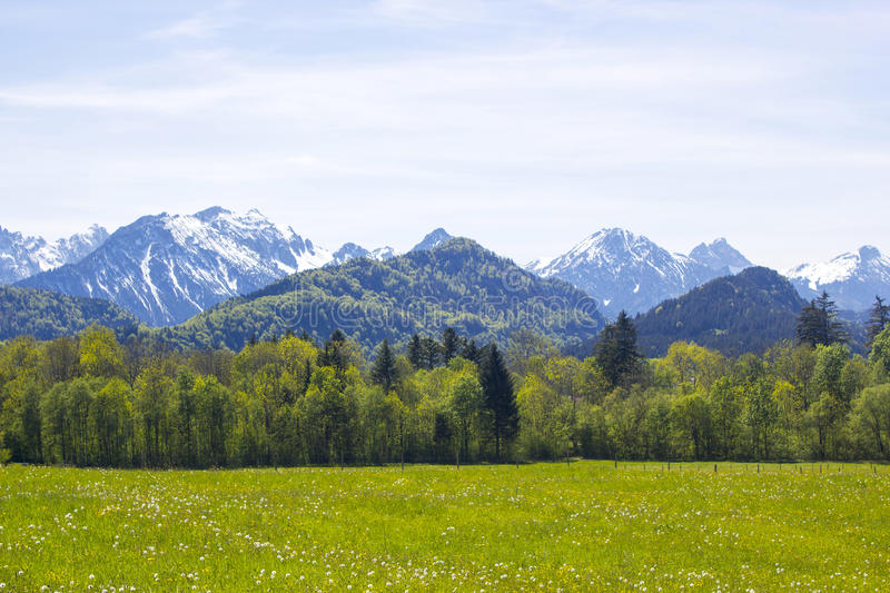 Download Lovely Panorama In The Alps Stock Image - Image of bavaria, forest: 39514927