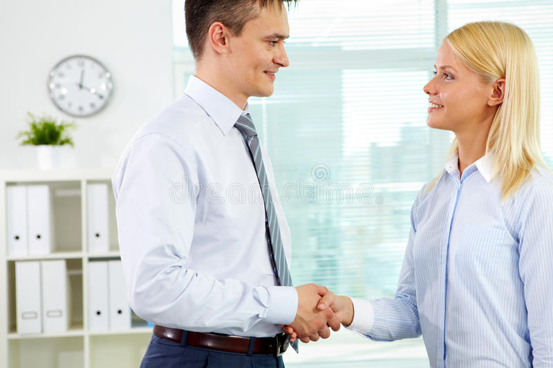 Download Lovely partner stock image. Image of indoor, agreement - 28377261