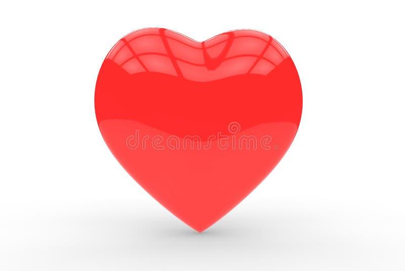 Download Lovely plump heart stock illustration. Illustration of love - 28373919