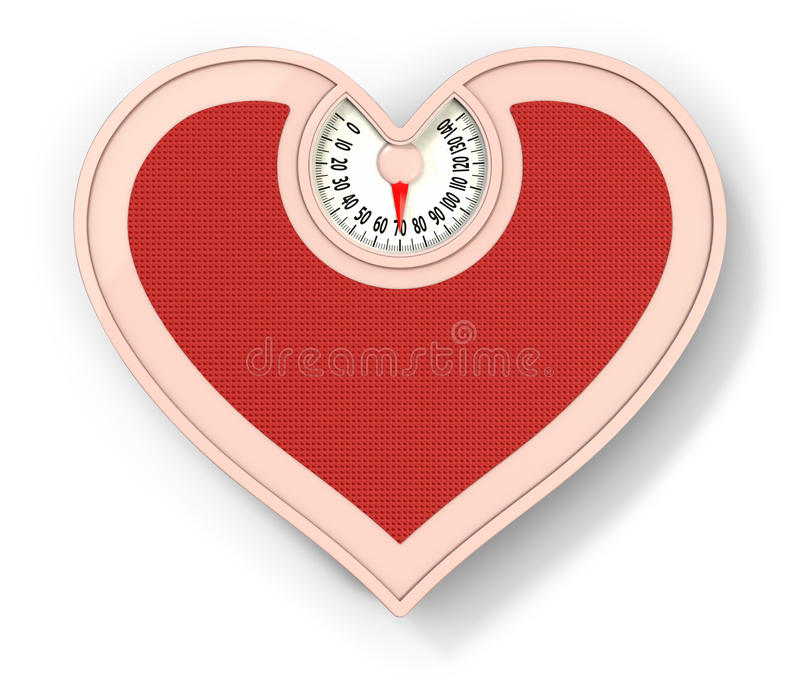 Download Lovely scale stock illustration. Image of kilogram, slim - 16346100