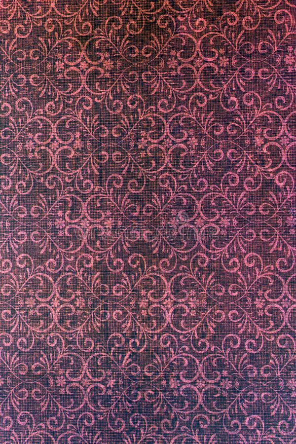Classic damask patterned background. royalty free stock photography