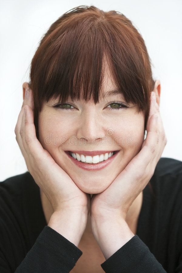 Lovely Smile stock photography