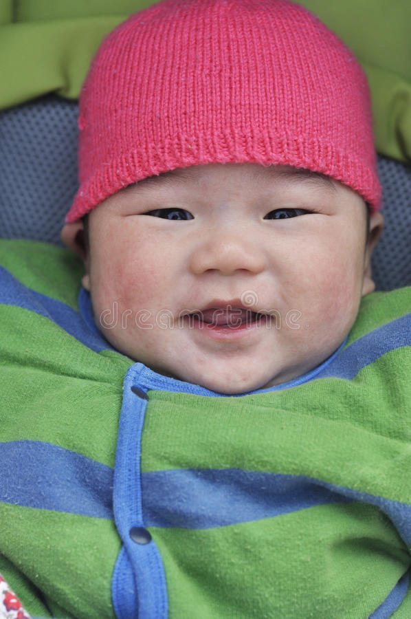Download Lovely smiling baby stock image. Image of child, looking - 37895297