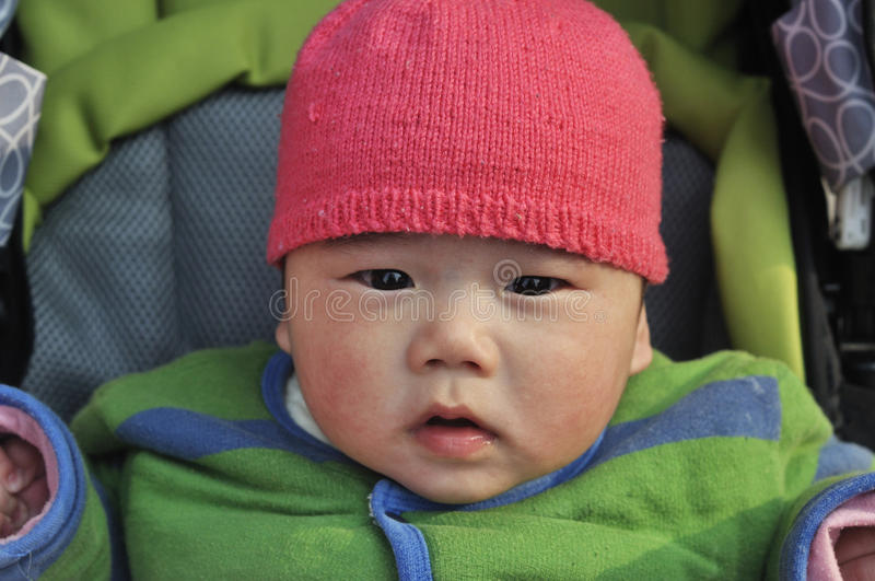 Download Lovely smiling baby stock photo. Image of chinese, closeup - 37895510